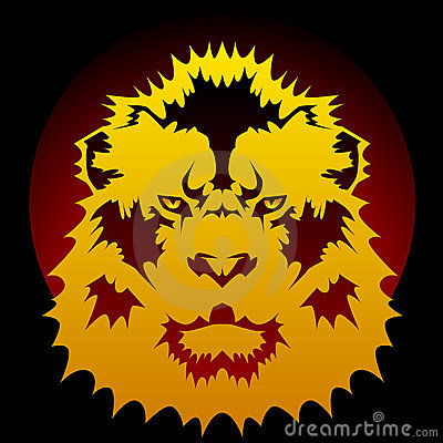 Lion graphic