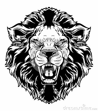 Free Lion Head Royalty Free Stock Photo - 49417145
