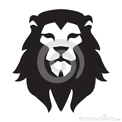 Free Lion Head Logo Template. Animal Wild Cat Face Graphic Sign. Pride, Strong, Power Concept Symbol Royalty Free Stock Image - 85704396