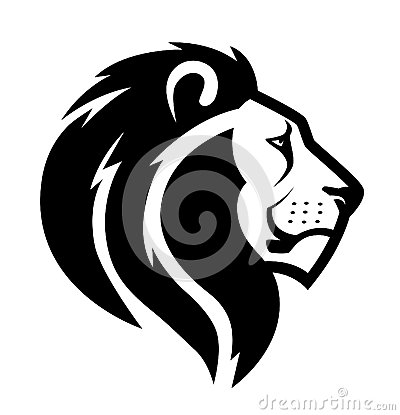 Free Lion Head Symbol Stock Photos - 41374413
