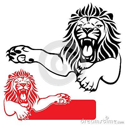 Lion label