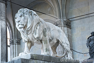 Lion in Munich