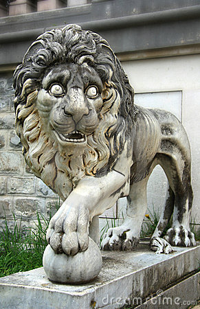 Lion from Peles Castle