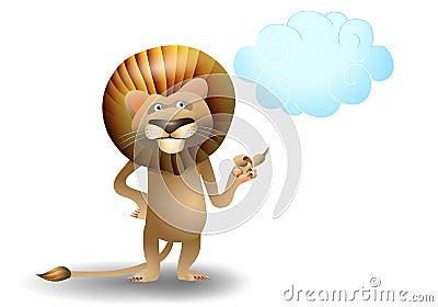 Lion point cloud