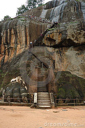 Lion s Gate at Sigiriya - Sri Lanka
