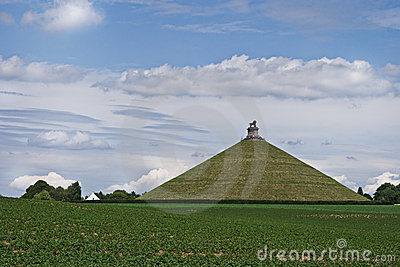 Lion s Mound or Butte de Lion at Waterloo