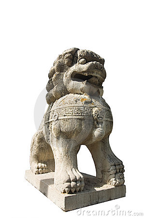 Free Lion Stone Sculpture 2 Royalty Free Stock Images - 5195269