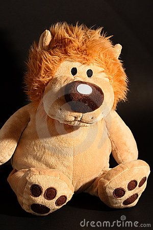 Lion toy.