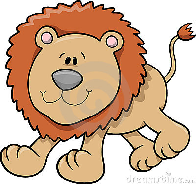 Free Lion Vector Illustration Royalty Free Stock Photos - 4008528