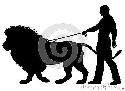 Lion walker