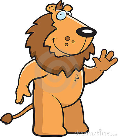 Lion Waving