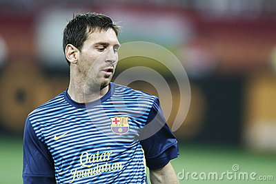 Lionel Messi Editorial Stock Image