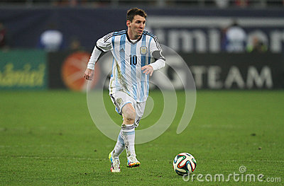 Lionel Messi Editorial Stock Photo