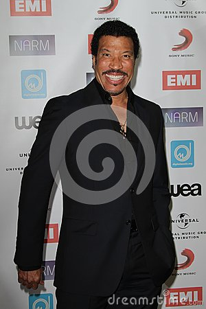 Lionel Richie Editorial Stock Photo