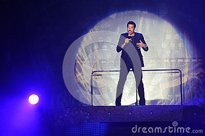 Lionel Richie Editorial Stock Image