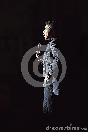 Lionel richie live Editorial Stock Photo
