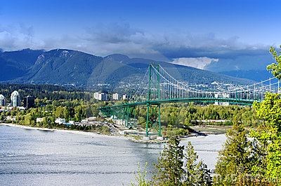 Lions Gate Bridge,Canada