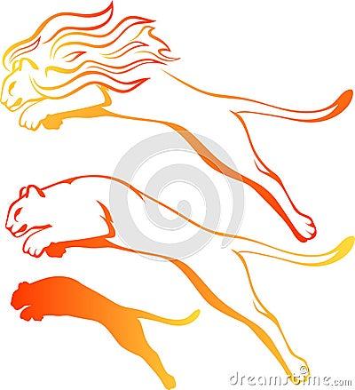 Lions vector