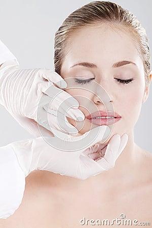 Lip skin check