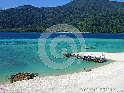Lipe island, Andaman sea, Thailand