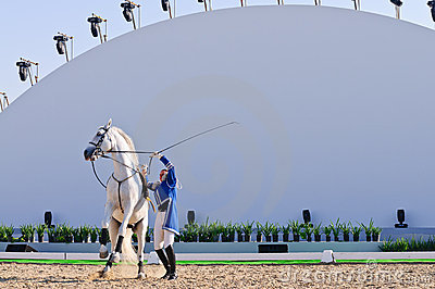 Lipizzan Stallions show Editorial Photography