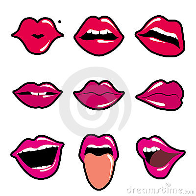 Lips  Stock Photos - Image: 12977813