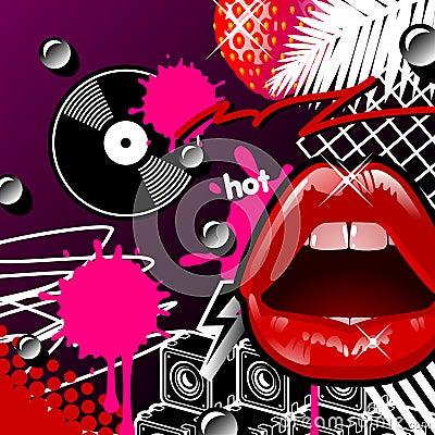 Lips And Vinyl