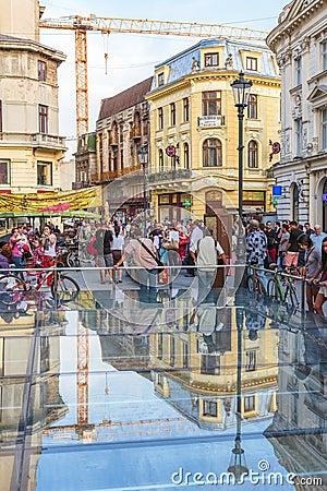 Lipscani, Bucharest, Romania
