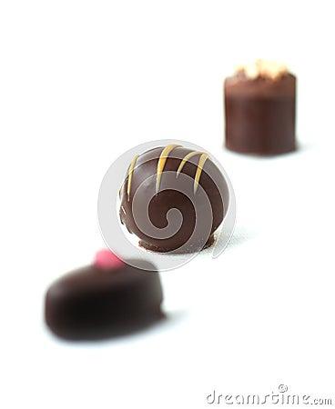 Free Liqueur Chocolates IV Stock Photos - 48560083