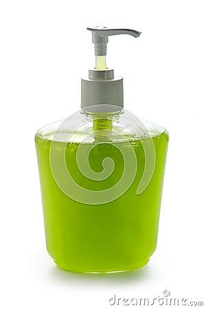 Liquid apple cream soap