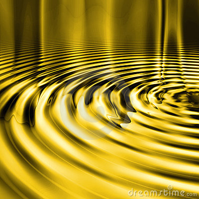 Liquid Gold Ripples