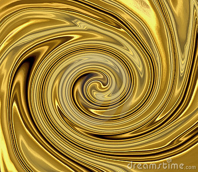 Liquid Gold Swirl