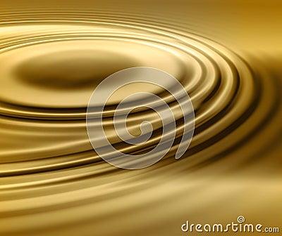 Liquid Gold Swirl