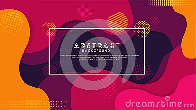 Liquid gradation violet color abstract background. Futuristic and elegant design Vector Illustration