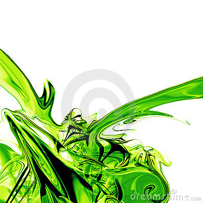 Liquid green fluid