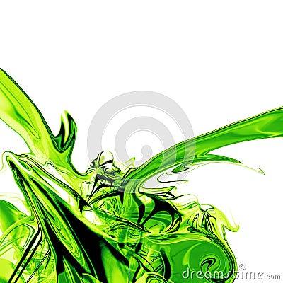 Liquid green fluid