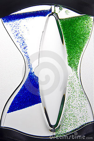 Liquid hourglass