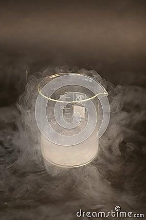 Free Liquid Nitrogen Royalty Free Stock Image - 189666