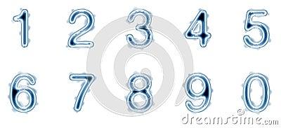 Liquid numbers