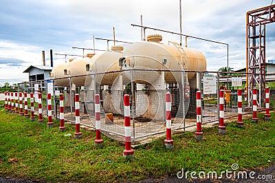 Liquid Petroleum Gas (LPG) storage