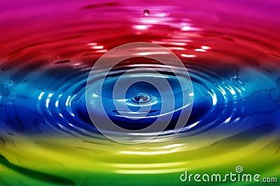 Liquid rainbow