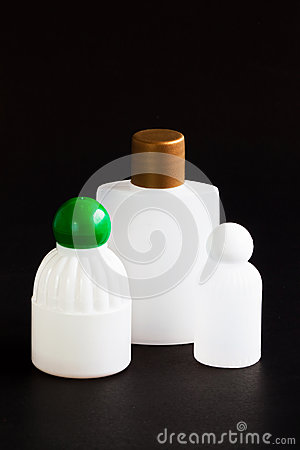 Liquid soap bottle for reuse.