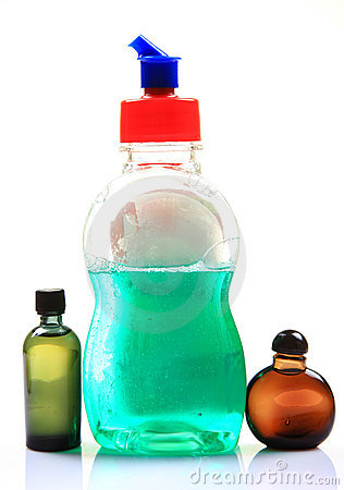 Liquid soap and oils