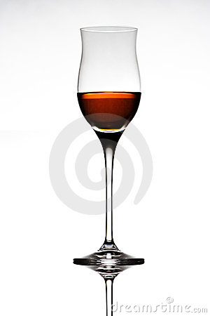 Free Liquor Glass Royalty Free Stock Photography - 769607