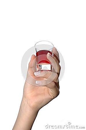 Liquor shot