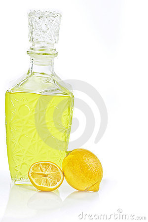 Liquor to the lemon