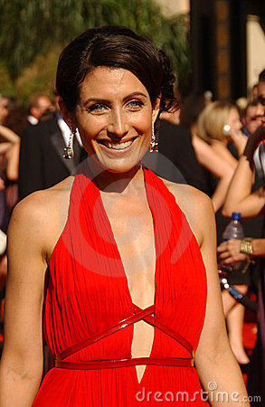 Lisa Edelstein Editorial Photo