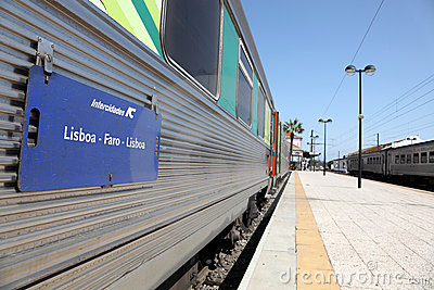 Lisboa - Faro Train Editorial Photography