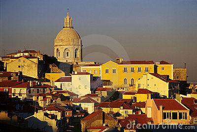 Lisboa Skyline Stock Photo - Image: 275040