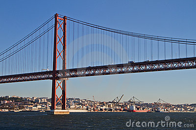 Lisbon, 25th of April bridge
